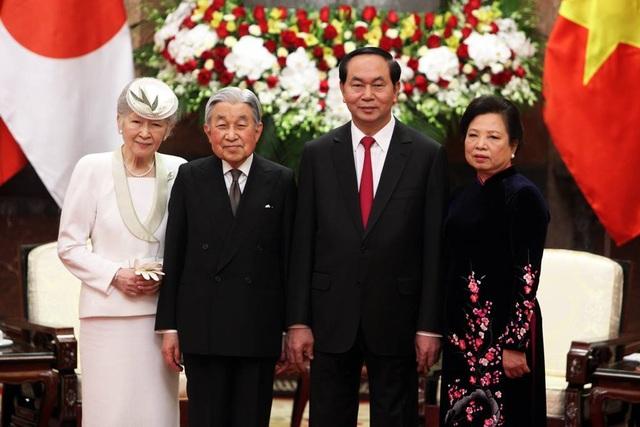 Chủ tịch nước đón Nhà vua Nhật Bản và Hoàng hậu - 7