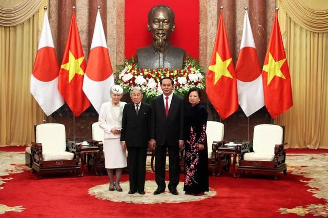 Chủ tịch nước đón Nhà vua Nhật Bản và Hoàng hậu - 8