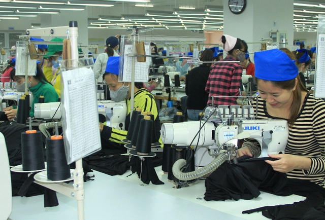 Công nhân công ty TNHH Sakurai Việt Nam trở lại làm việc 100% sau kỳ nghỉ Tết