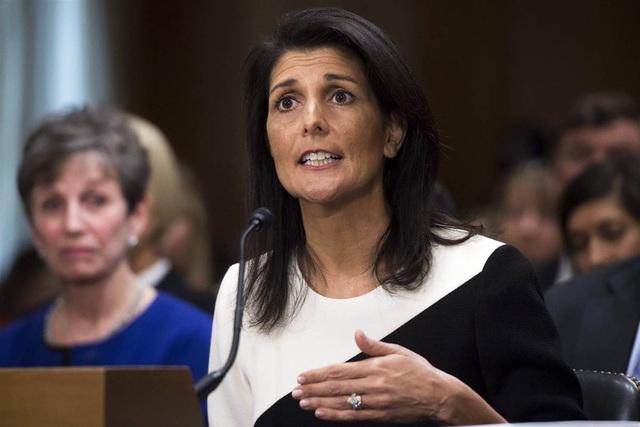 Đại sứ Mỹ tại Liên Hợp Quốc Nikki Haley (Ảnh: Getty)