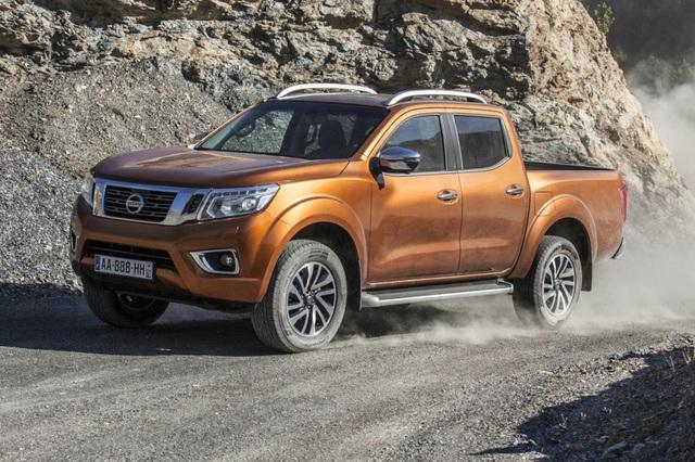 Xe bán tải Nissan sẽ dùng cơ sở gầm bệ Mitsubishi - 3
