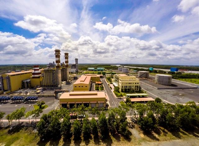 Sau 10 năm thành lập, đến nay, gánh vác 15-20% trong tổng sản lượng điện quốc gia phát ra trong toàn quốc. Ảnh:Công trình Nhiệt điện Nhơn Trạch I, ảnh:PVP