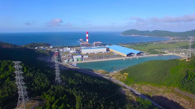 Nhà máy Nhiệt điện Vũng Áng- một công trình có công suất lớn của PV Power