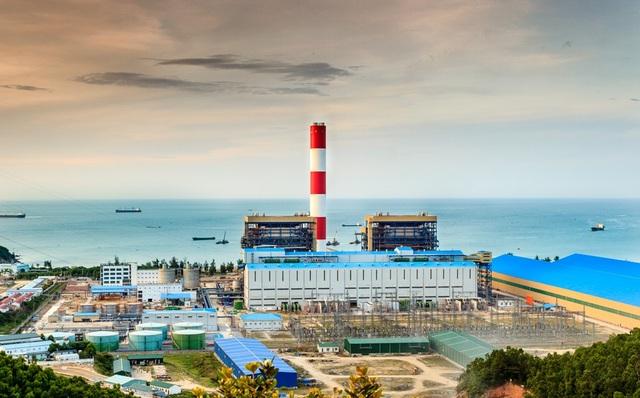 Nhà máy Nhiệt điện Vũng Áng I, một trong những công trình trọng điểm của PV Power