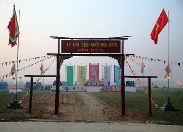 Trong nhiều năm trở lại đây, tỉnh Hà Nam đã phục dựng thành công, tái hiện lại truyền thống Dĩ nông vi bản để khuyến khích nông nghiệp