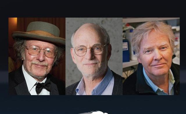 3 nhà khoa học giành giải Nobel Y học năm 2017 (Ảnh: Nobel Prize Twitter)
