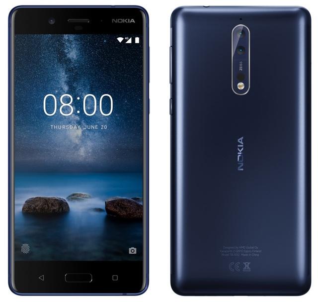 Hình ảnh được cho là Nokia 8.