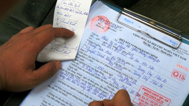Trong năm 2016, Phòng CSGT - CATP Hà Nội phát hiện, xử lý 1907 trường hợp vi phạm quy định về nồng độ cồn. Từ đầu năm 2017 đến nay, đã có 193 trường hợp tương tự bị xử lý.