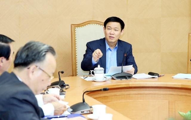 Phó Thủ tướng Vương Đình Huệ chủ trì cuộc họp cho ý kiến về Đề án xây dựng nông thôn mới (NTM) trong quá trình đô thị hóa (ĐTH) trên địa bàn cấp huyện, giai đoạn 2017-2020, chiều 9/3