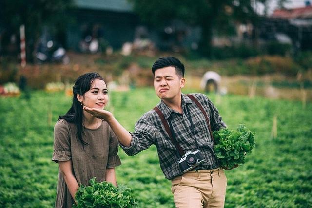 Đó là câu chuyện của cặp đôi Bùi Minh Cường và Nguyễn Lê Hồng Lĩnh.
