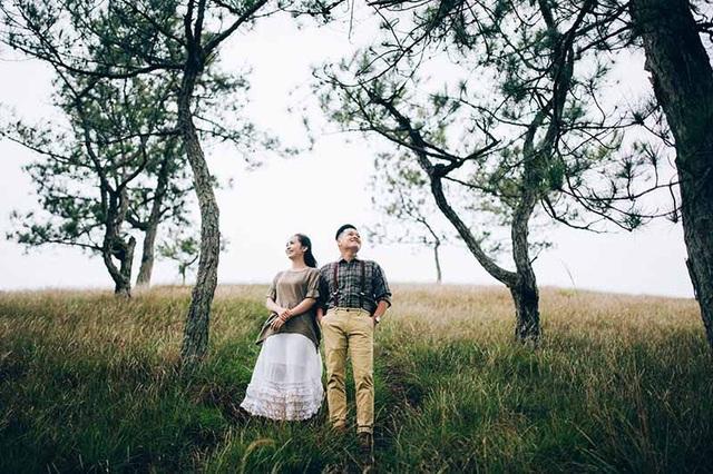 Ảnh cưới giản dị tại vườn rau sạch của cặp đôi mơ về cuộc sống bình yên - 12