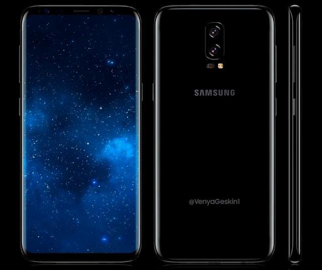 Thiết kế màn hình vô cực sẽ tiếp tục được khai thác trên Galaxy Note 8.