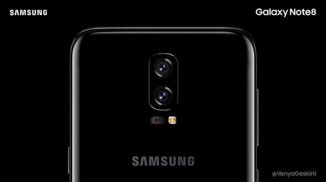 Camera kép sẽ là tính năng quan trọng trên Galaxy Note 8.