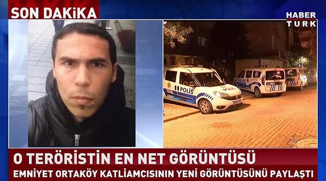 Hình ảnh được cho là nghi phạm vụ tấn công hộp đêm ở Istanbul. (Ảnh: RT)