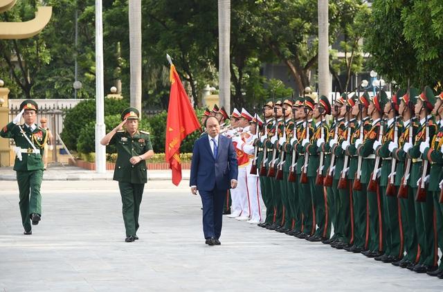 Thủ tướng: Cần xây dựng Học viện Quốc phòng mang tầm cỡ khu vực và quốc tế - 1