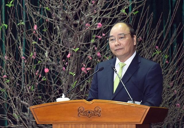 Thủ tướng Nguyễn Xuân Phúc phát biểu chỉ đạo tại hội nghị. Ảnh: HN.