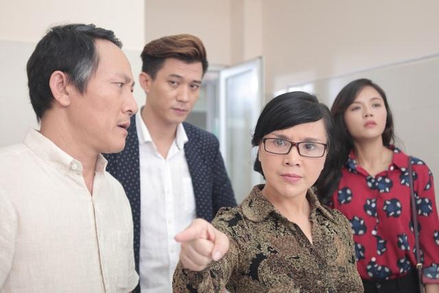 NSND Lan Hương vào vai mẹ chồng trong phim Ngược chiều nước mắt.