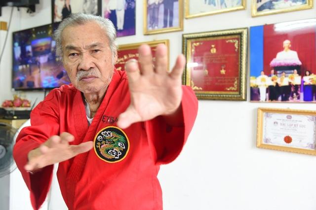 Võ sư, NSND Lý Huỳnh. Ảnh: Phạm Lữ.