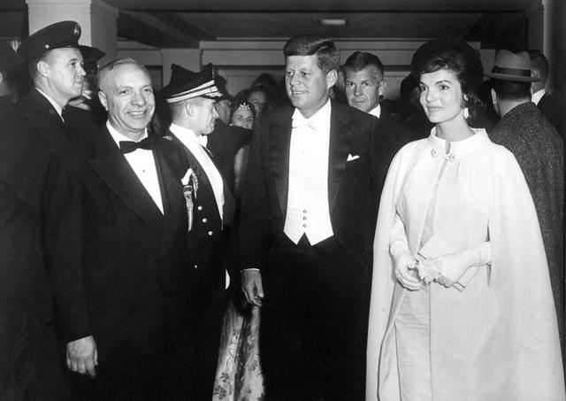 Tổng thống John F. Kennedy và Đệ nhất phu nhân trong lễ nhậm chức vào tháng 1/1961.