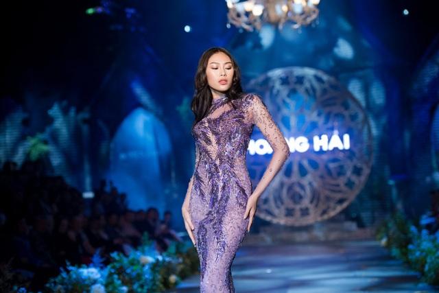 Mai Phương Thúy, Thủy Top tái xuất thưởng lãm BST Kim cương tím - 13