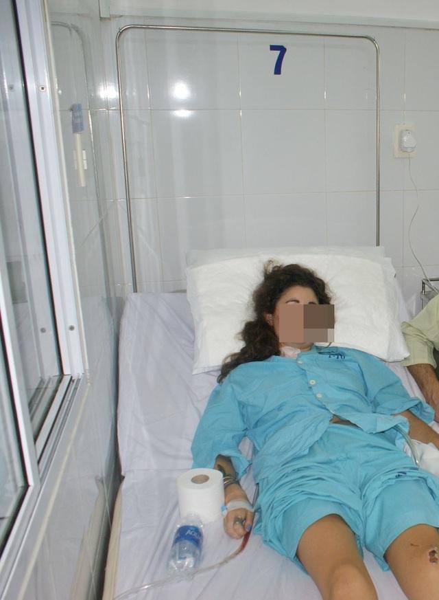 Bệnh nhân Isabelle Garett Peel đã được cứu sống