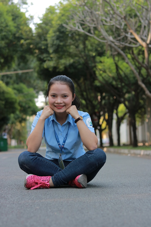Phạm Thị Thanh Thảo cũng quyết tâm theo đuổi đến cùng chuyên ngành điện tử công nghiệp
