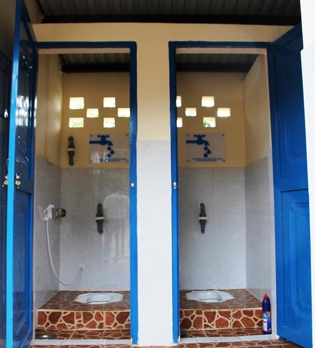 Nước sạch, nhà vệ sinh đạt chuẩn đến với học sinh vùng sâu, vùng xa - 3