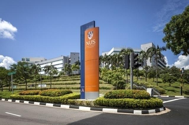 Đại học Quốc gia Singapore (NUS) chiếm vị trí số 1 trong bảng xếp hạng đại học châu Á năm 2017 của tạp chí Times Higher Education (Ảnh: Reuters).