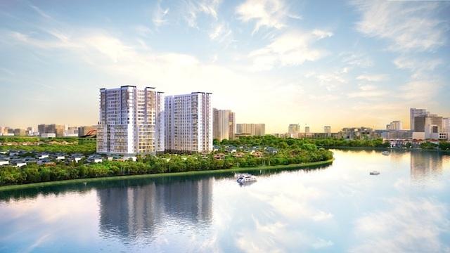 Ba mặt hướng sông ấn tượng tại dự án Sunrise Riverside