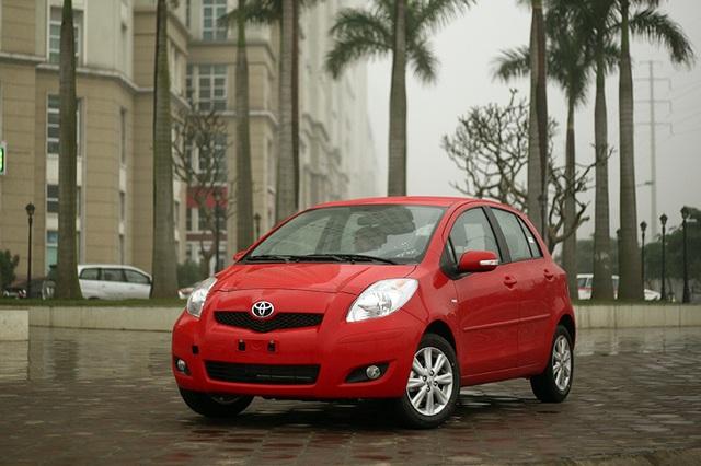 Toyota Yaris được nhập khẩu chính thức qua TMV kể từ năm 2011