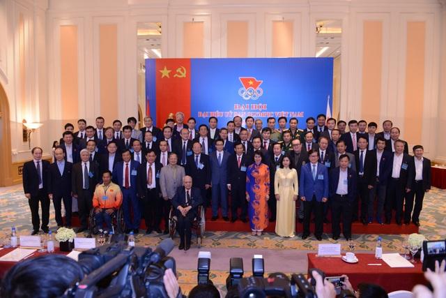 Sáng nay 16/4, Đại hội Đại biểu của Ủy ban Olympic Việt Nam (UBOVN) khóa V, nhiệm kỳ 2016 – 2020 đã diễn ra tại Hà Nội.
