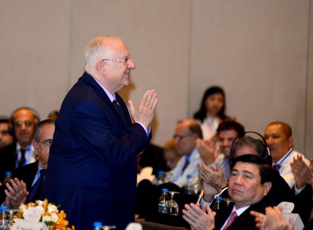 Tổng thống Israel Reuven Rivlin đã tham dự diễn đàn doanh nghiệp Việt Nam - Israel