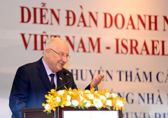 Tổng thống Israel đọc ngạn ngữ Việt Nam