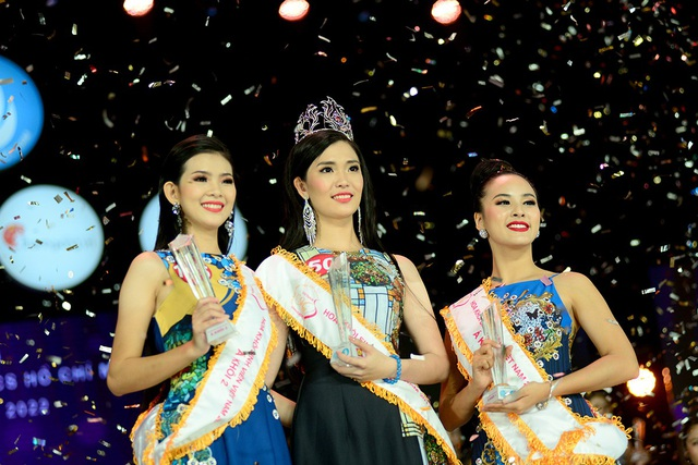 Ba thí sinh đạt giải cao nhất đêm chung kết