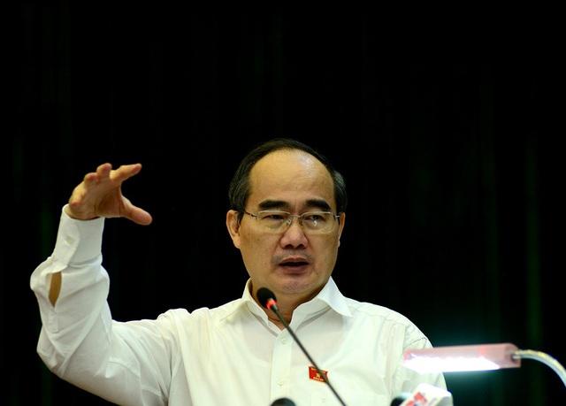 Bí thư Nguyễn Thiện Nhân cho rằng, phát triển giao thông đường sắt... cực kỳ khó khăn.