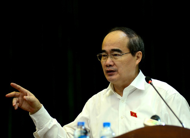 Bí thư Thành ủy TPHCM Nguyễn Thiện Nhân trả lời về cơ chế đặc thù của TPHCM.