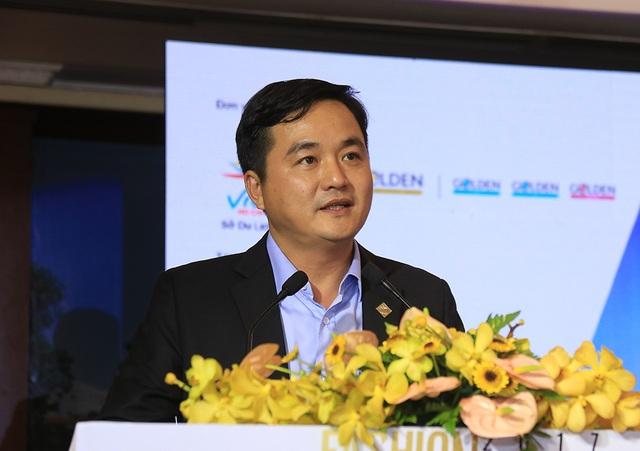 Ông Bùi Tá Hoàng Vũ, Giám đốc Sở Du lịch TPHCM chia sẻ thông tin về sự kiện đặc biệt sẽ diễn ra vào tháng 10/2017