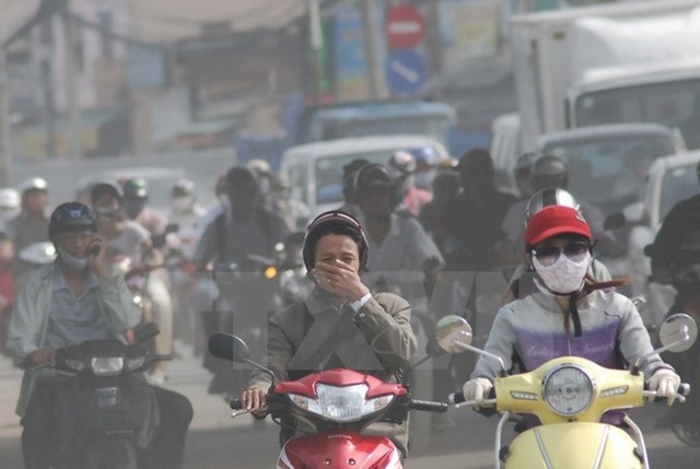 Ô nhiễm không khí tại các đô thị lớn ở Việt Nam đang dấy lên lo ngại của giới doanh nghiệp và nhà đầu tư nước ngoài (ảnh minh hoạ)