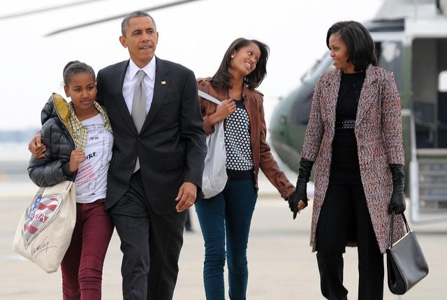 Gia đình cựu Tổng thống Obama (Ảnh: Getty)