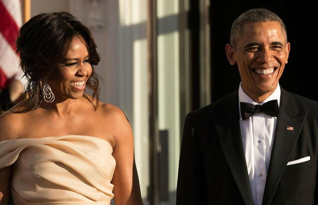 Vợ chồng cựu Tổng thống Mỹ Barack Obama. (Ảnh: Getty)