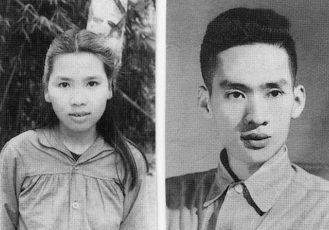 Nhà văn Vũ Tú Nam - Thanh Hương thời trẻ. Ảnh do gia đình cung cấp.