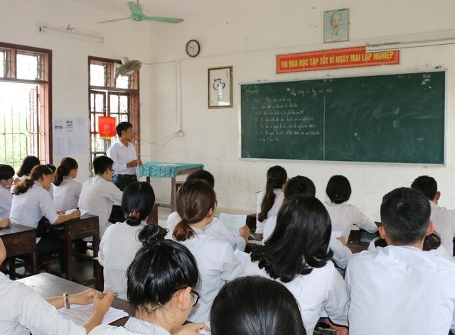 Thầy - trò lớp 12 tại Nghệ An bước vào giai đoạn ôn tập nước rút chuẩn bị cho kỳ thi THPT quốc gia 2017