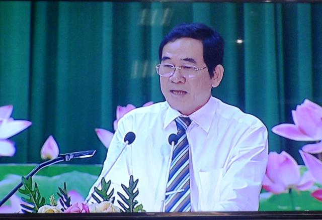 Ông Nguyễn Hữu Dũng - Giám đốc Sở Công Thương nhìn nhận việc một số thương nhân về quê bán hàng giả cho dân là do Sở cho làm tốt công tác quản lý của Nhà nước