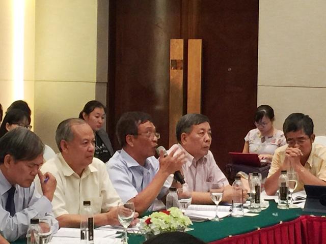 TS Hoàng Ngọc Giao, Viện trưởng Viện Nghiên cứu Chính sách, Pháp luật và Phát triển.