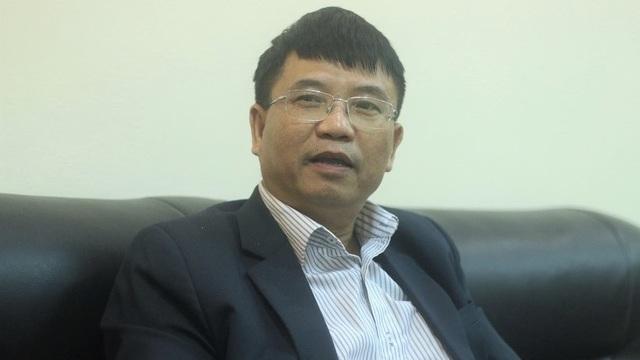 Ông Nguyễn Đắc Hùng, Trưởng phòng GD-ĐT quận Ba Đình (Hà Nội). Ảnh: Thanh Hùng.