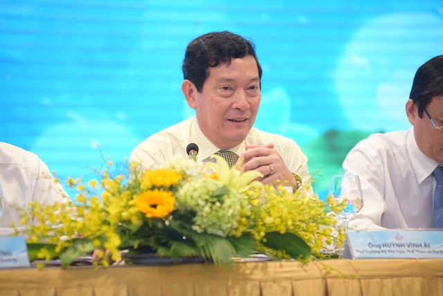 Ông Huỳnh Vĩnh Ái - Thứ trưởng Bộ Văn hóa - Thể thao và Du lịch.