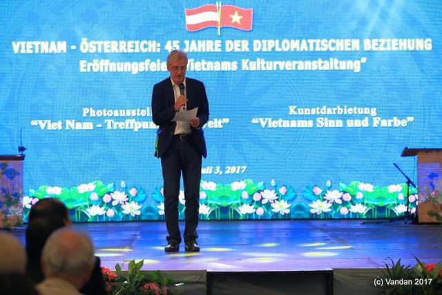 Ông Josef Cap, Chủ nhiệm Ủy ban đối ngoại Cộng hòa Áo.
