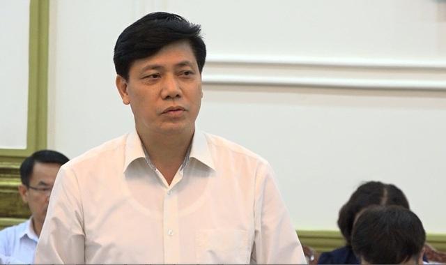 Thứ trưởng Bộ Giao thông vận tải Nguyễn Ngọc Đông
