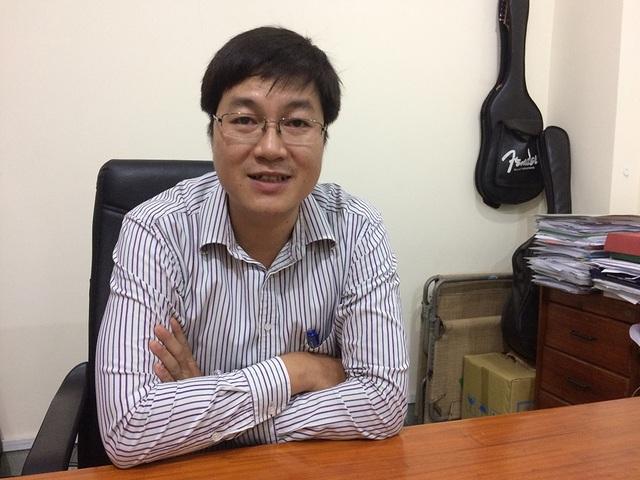 Ông Nguyễn Ngọc Trung, Trưởng phòng Tổ chức - Hành chính Trường ĐH Sư phạm TP.HCM.