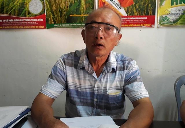 Ông Nguyễn Phúc Nam - Chủ nhiệm HTX nông nghiệp Hưng Dũng thừa nhận HTX cho vay tiền không đúng đôi tượng, quản lý kinh tế lỏng lẻo